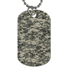 Us Army Digital Camouflage Pattern Dog Tag (one Side)