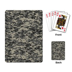 Us Army Digital Camouflage Pattern Playing Card
