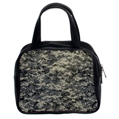 Us Army Digital Camouflage Pattern Classic Handbags (2 Sides)