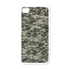 Us Army Digital Camouflage Pattern Apple Iphone 4 Case (white)