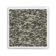 Us Army Digital Camouflage Pattern Memory Card Reader (square)  by BangZart