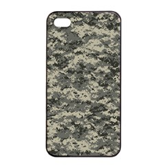 Us Army Digital Camouflage Pattern Apple Iphone 4/4s Seamless Case (black) by BangZart