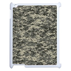 Us Army Digital Camouflage Pattern Apple Ipad 2 Case (white) by BangZart