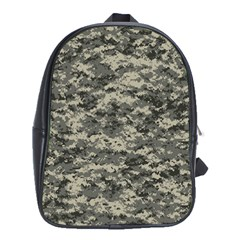 Us Army Digital Camouflage Pattern School Bags (xl)  by BangZart