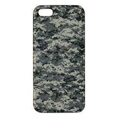 Us Army Digital Camouflage Pattern Apple Iphone 5 Premium Hardshell Case by BangZart