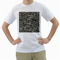 Us Army Digital Camouflage Pattern Men s T Shirt (white)