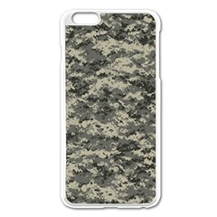 Us Army Digital Camouflage Pattern Apple Iphone 6 Plus/6s Plus Enamel White Case