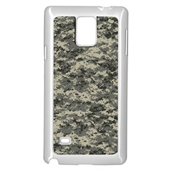 Us Army Digital Camouflage Pattern Samsung Galaxy Note 4 Case (white)