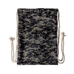 Us Army Digital Camouflage Pattern Drawstring Bag (small) by BangZart