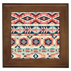 Aztec Pattern Copy Framed Tiles