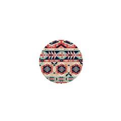 Aztec Pattern Copy 1  Mini Magnets