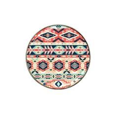Aztec Pattern Copy Hat Clip Ball Marker (4 Pack)