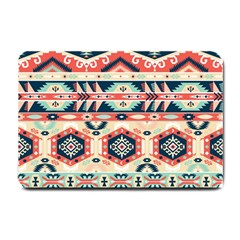 Aztec Pattern Copy Small Doormat  by BangZart