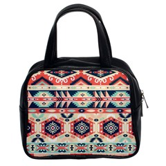 Aztec Pattern Copy Classic Handbags (2 Sides) by BangZart
