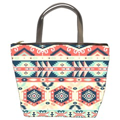 Aztec Pattern Copy Bucket Bags