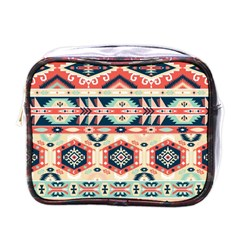 Aztec Pattern Copy Mini Toiletries Bags by BangZart
