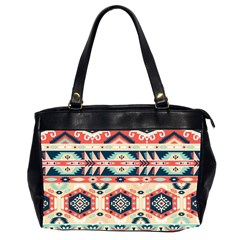 Aztec Pattern Copy Office Handbags (2 Sides)  by BangZart