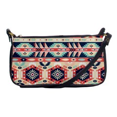 Aztec Pattern Copy Shoulder Clutch Bags