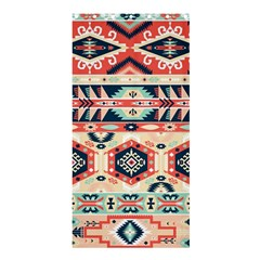 Aztec Pattern Copy Shower Curtain 36  X 72  (stall)  by BangZart