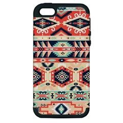 Aztec Pattern Copy Apple Iphone 5 Hardshell Case (pc+silicone) by BangZart