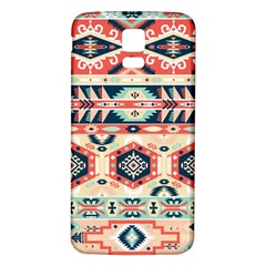 Aztec Pattern Copy Samsung Galaxy S5 Back Case (white)