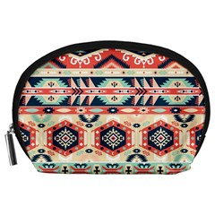 Aztec Pattern Copy Accessory Pouches (Large)