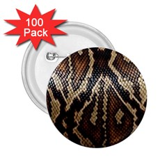 Snake Skin O Lay 2 25  Buttons (100 Pack)  by BangZart