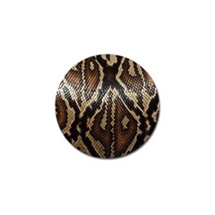 Snake Skin O Lay Golf Ball Marker (4 Pack)