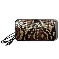 Snake Skin O Lay Portable Speaker (black) by BangZart