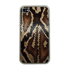Snake Skin O Lay Apple Iphone 4 Case (clear) by BangZart