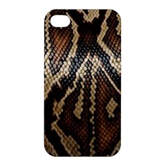 Snake Skin O Lay Apple Iphone 4/4s Premium Hardshell Case