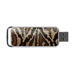 Snake Skin O Lay Portable Usb Flash (one Side)