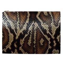 Snake Skin O Lay Cosmetic Bag (xxl)