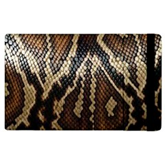 Snake Skin O Lay Apple Ipad 2 Flip Case by BangZart