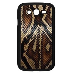 Snake Skin O Lay Samsung Galaxy Grand Duos I9082 Case (black) by BangZart