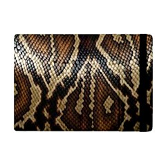 Snake Skin O Lay Ipad Mini 2 Flip Cases by BangZart
