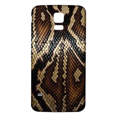 Snake Skin O Lay Samsung Galaxy S5 Back Case (white) by BangZart