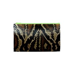 Snake Skin O Lay Cosmetic Bag (xs) by BangZart