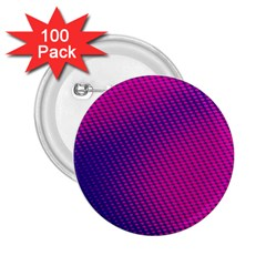 Purple Pink Dots 2 25  Buttons (100 Pack)