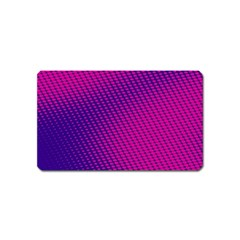 Purple Pink Dots Magnet (name Card)