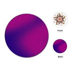 Purple Pink Dots Playing Cards (round)  by BangZart