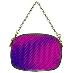 Purple Pink Dots Chain Purses (one Side)  by BangZart