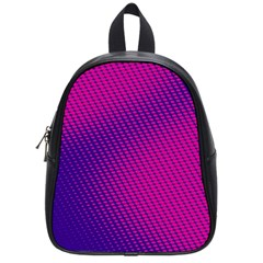 Purple Pink Dots School Bags (small)  by BangZart