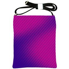 Purple Pink Dots Shoulder Sling Bags by BangZart