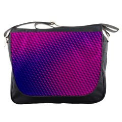 Purple Pink Dots Messenger Bags