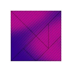 Purple Pink Dots Acrylic Tangram Puzzle (4  X 4 )