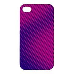 Purple Pink Dots Apple Iphone 4/4s Premium Hardshell Case by BangZart