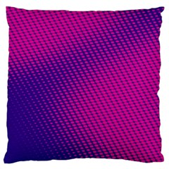 Purple Pink Dots Large Cushion Case (two Sides) by BangZart