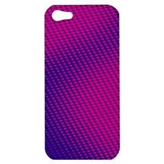 Purple Pink Dots Apple Iphone 5 Hardshell Case by BangZart