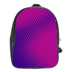 Purple Pink Dots School Bags (xl)  by BangZart